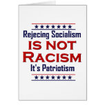 Rejecting Socialism, Greeting Card