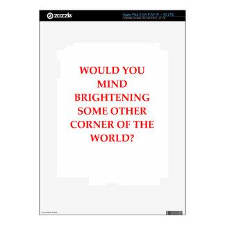 rejection iPad 3 decals