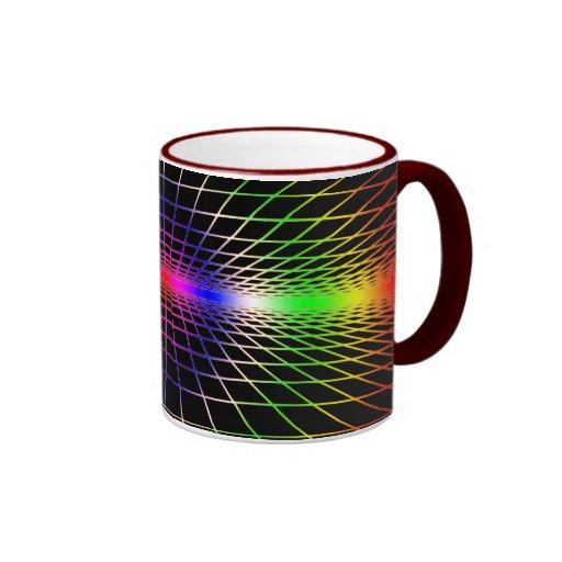 Rejilla a la eternidad taza a dos colores
