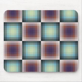 Rejilla abstracta del pixel alfombrillas de raton