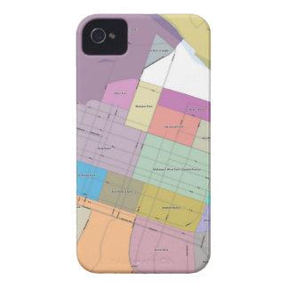 Rejilla de Sacramento iPhone 4 Case-Mate Carcasa