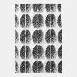 Rejilla del cerebro toallas de mano