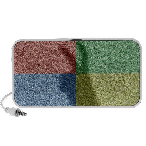 Rejilla del color de la sombra cuatro de los oídos altavoz