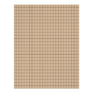 Rejilla del gráfico de Brown 0332879 Membrete A Diseño