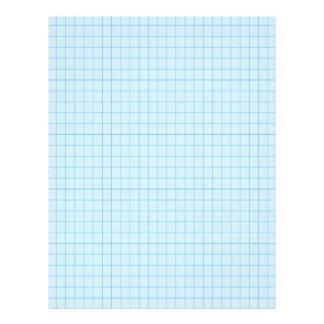Rejilla del gráfico del azul 2021698 membrete a diseño
