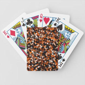 Rejilla del pixel baraja de cartas