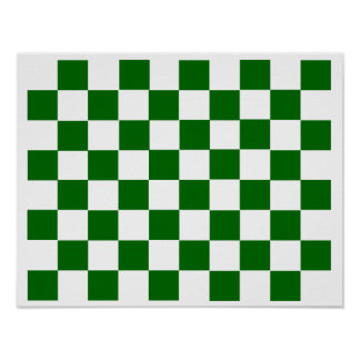 "rejilla del ~TAG~ del ajedrez 10x8 (1-1/4"" imanes Póster"