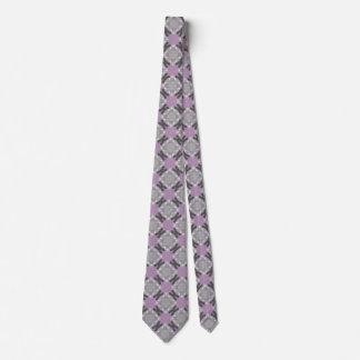 Rejilla descolorada del círculo corbata