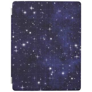 Rejilla estrellada del cielo nocturno cubierta de iPad