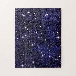 Rejilla estrellada del cielo nocturno rompecabeza