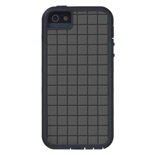 Rejilla negra del mosaico iPhone 5 cárcasas