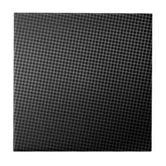 Rejilla oscura del metal azulejo cuadrado pequeño