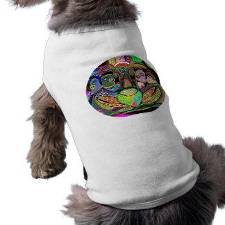 Rejilla Ovel - arte del placer del orgullo Camiseta De Perro