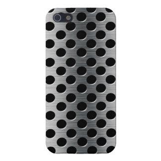 Rejilla perforada del metal iPhone 5 carcasa