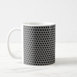 Rejilla plástica ilustrativa taza