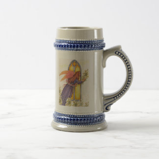 REJOICE ANGEL MUG