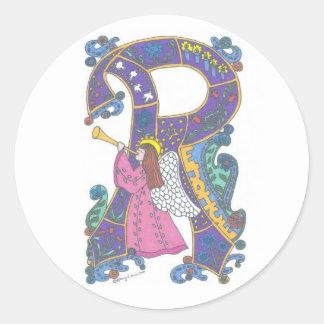 Rejoice Angel Sticker