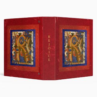 """Rejoice!"" Christmas Photo Album Binders"