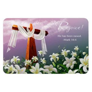 Rejoice. Easter Gift Magnet