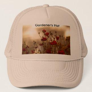 REJOICE Floral Design Trucker Hat