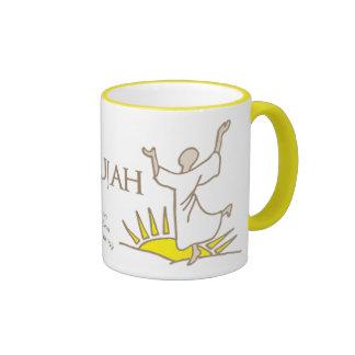 Rejoice in hallelujah bible verse religious mug
