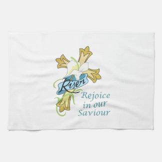 REJOICE IN OUR SAVIOUR TOWEL