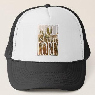 Rejoice in the Lord Trucker Hat