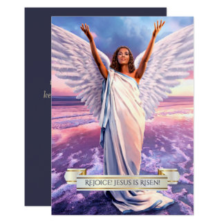 Rejoice! Jesus is Risen. Religious Easter Cards