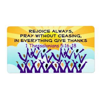 Rejoice labels