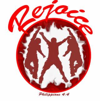 Rejoice - Philippians 4.4 Cutout