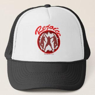 Rejoice - Philippians 4.4 Trucker Hat