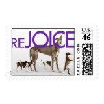 Rejoice Postage Stamp