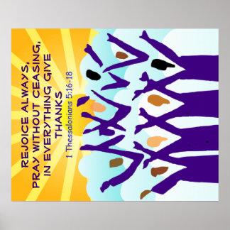 Rejoice poster