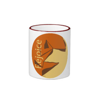 Rejoice Ringer Mug