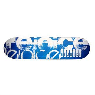 Rejoice; Royal Blue Stripes. Skate Decks