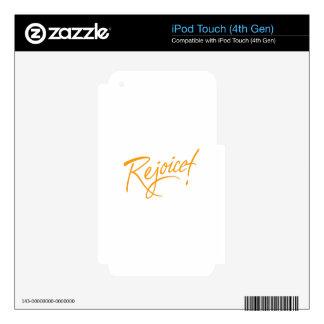 Rejoice iPod Touch 4G Skin