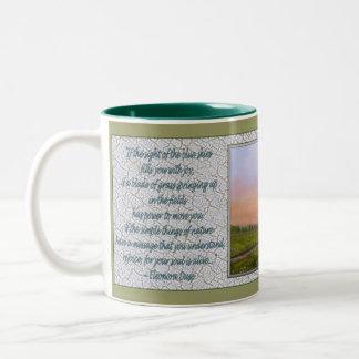 Rejoice! Two-Tone Coffee Mug