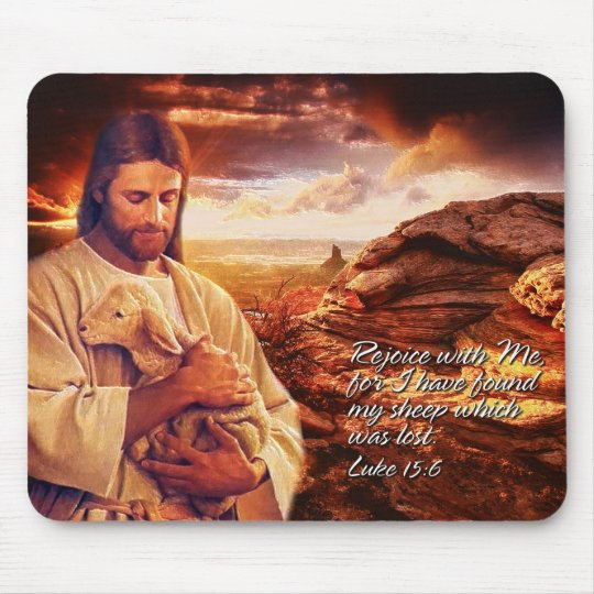 Rejoice with Me.. Mouse Pad