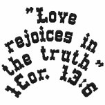Rejoices in the truth Jacket