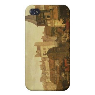 Rejoicing at Les Halles iPhone 4/4S Cover