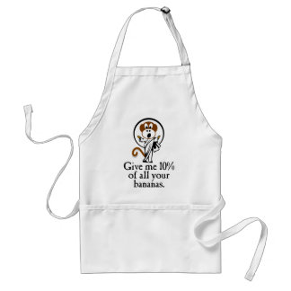 Rejoicing Monkey Adult Apron