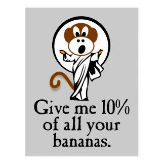 Rejoicing Monkey Postcard