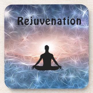 Rejuvenation Cosmic Meditator Beverage Coaster