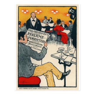 Reklame Plakater Postcard