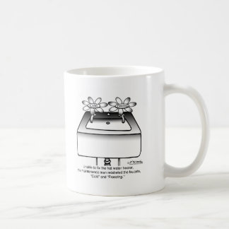 Relabel Faucets Cold & Freezing Coffee Mug