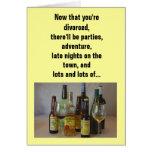Relación/datación - ahora que usted se divorcia… tarjeta