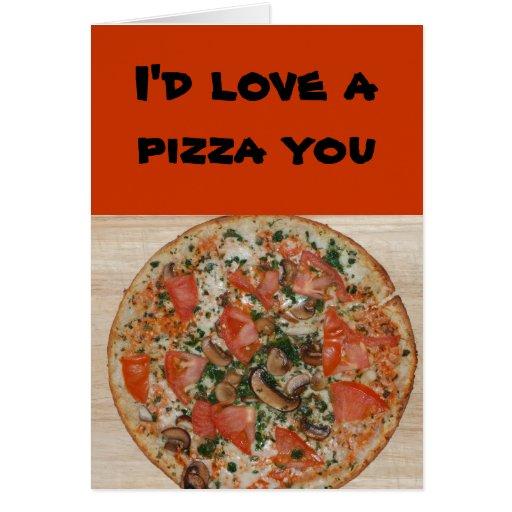 Relación/datación - amaría una pizza usted tarjeta