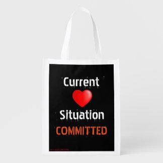 Relación de la situación actual Situación-CONFIADA Bolsa Para La Compra