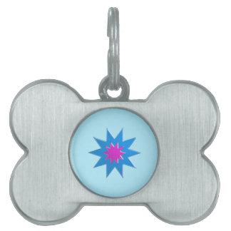 Relación mágica Goodluck de BLUESTAR BARATO Placa Mascota