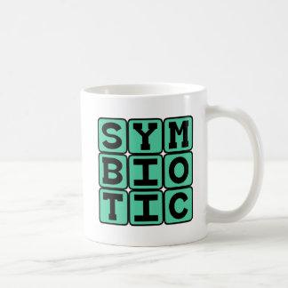 Relación simbiótica, Co-Dependiente Taza Básica Blanca